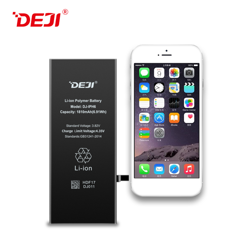 1810mah 3.82V Original Capacity For Change Battery For Iphone 6