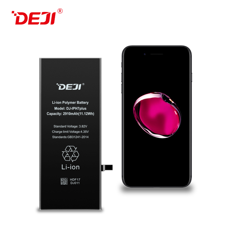 Msds 2910mah Portable Phone Battery Original Battery For Iphone 7P DEJI Brand