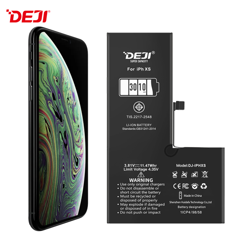 3010mAh Full Capacity Mobile Phone Battery Replacement For Wholesale Iphone Xs