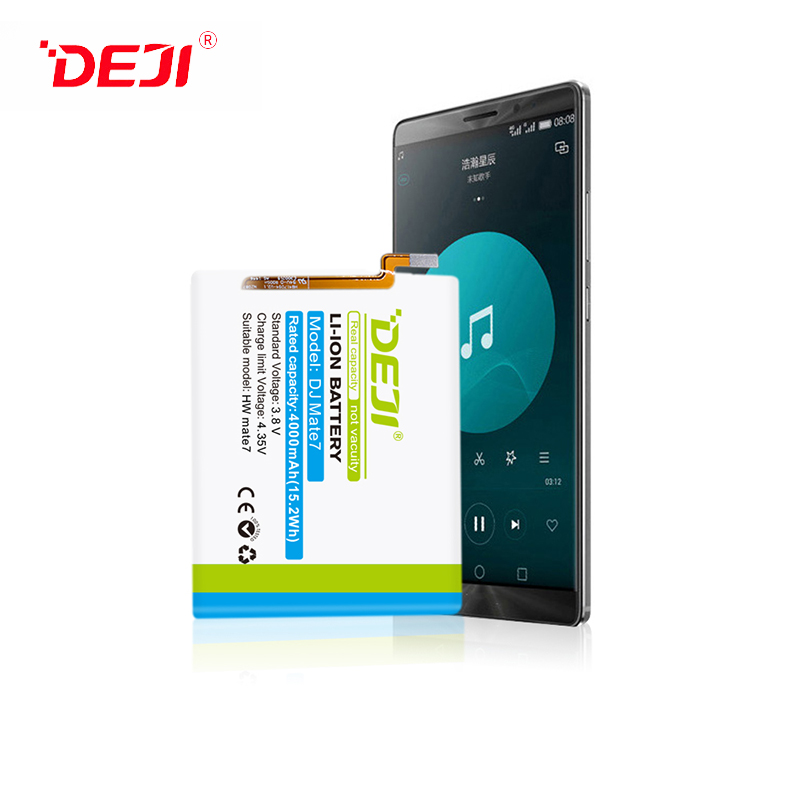 DEJI Manufacturers Cellphone Battery For 4000mah Huawei Mate7 Hot Sale 0 Cycle Battery
