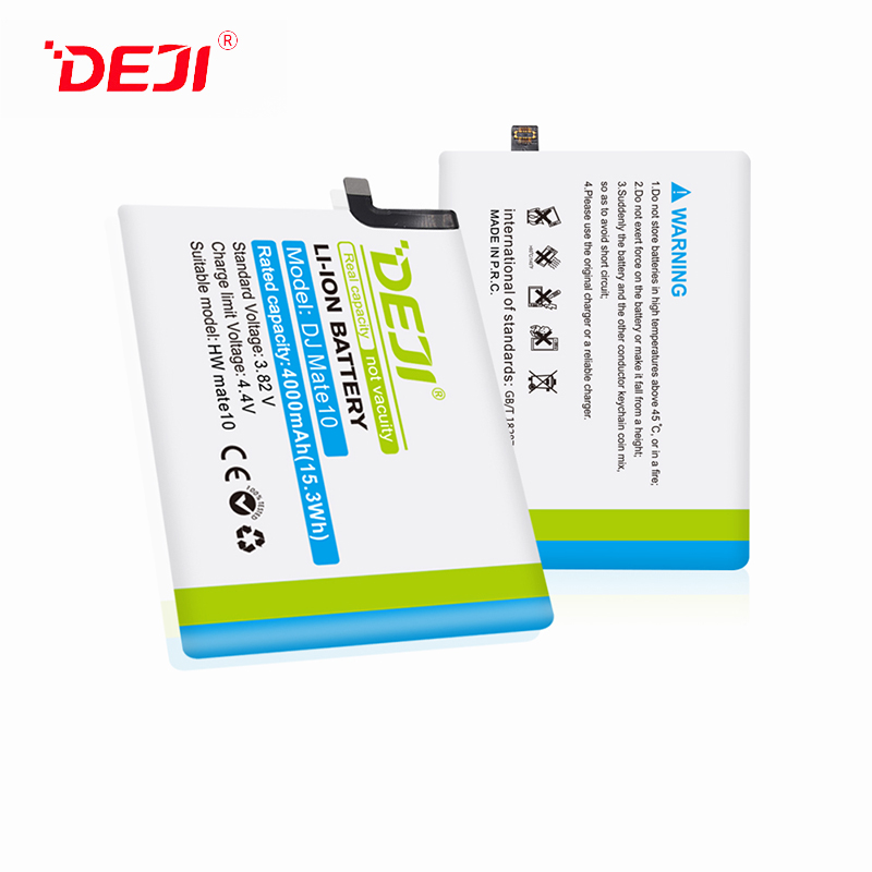 DEJI Brand Huawei Phone Battery 4000mAh For Wholesale Mate10 Battery