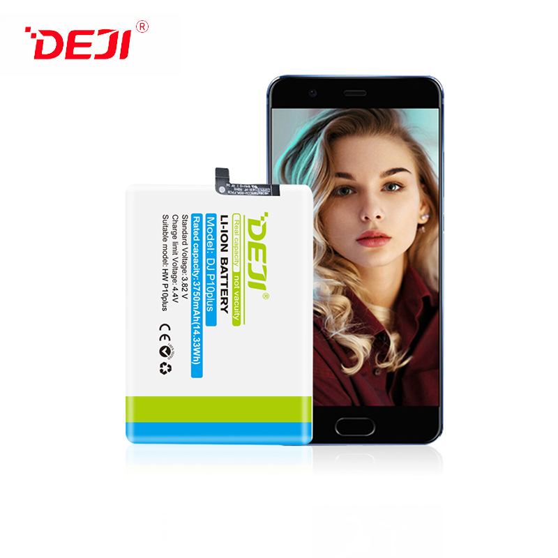 DEJI IEC62133 New Product CE FCC ROHS Replacement Battery For 3750mah Huawei P10plus Battery