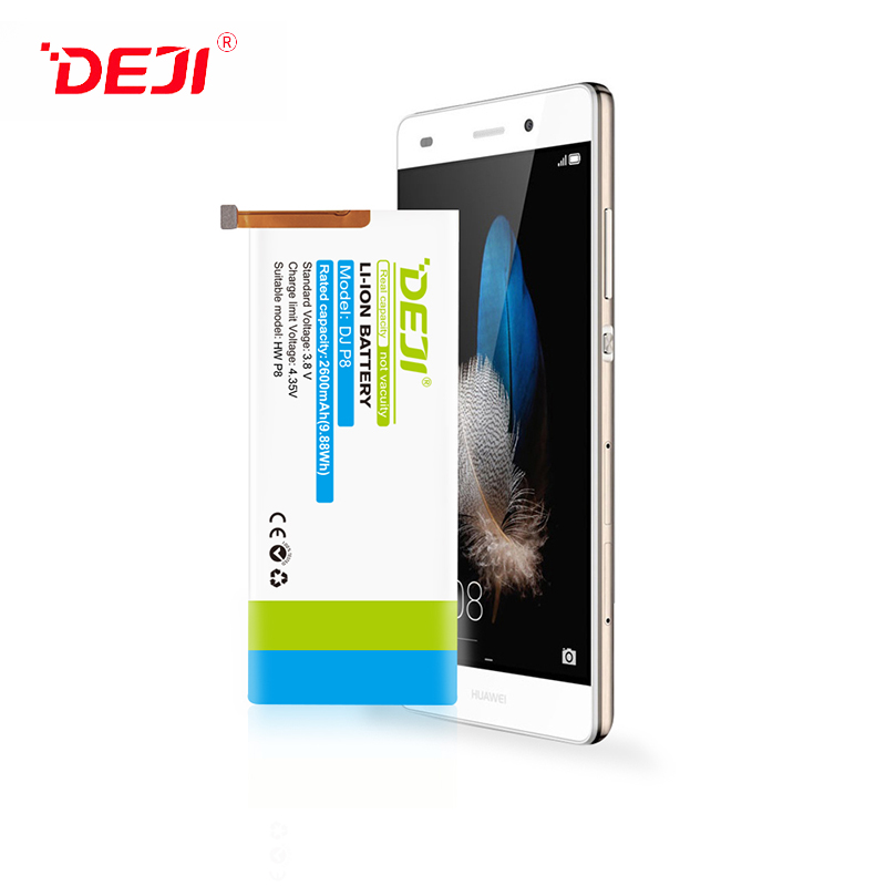 Wholesale Battery For Huawei P8 2600mah High Quality Cell Phone Battery DEJI Brand