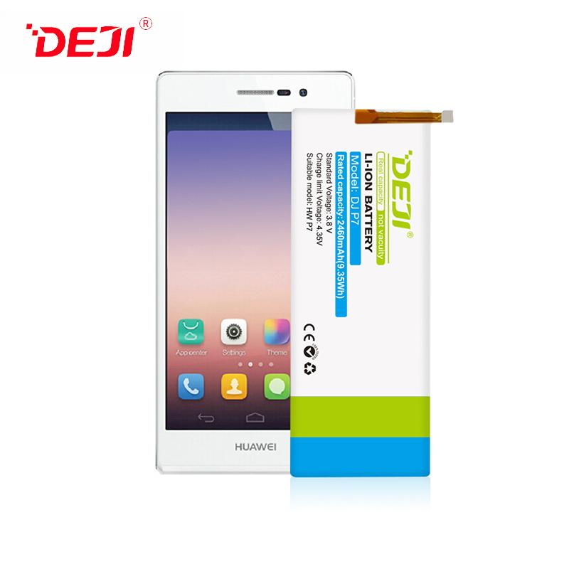 DEJI 2460mah Mobile Phone Battery For Wholesale Huawei P7