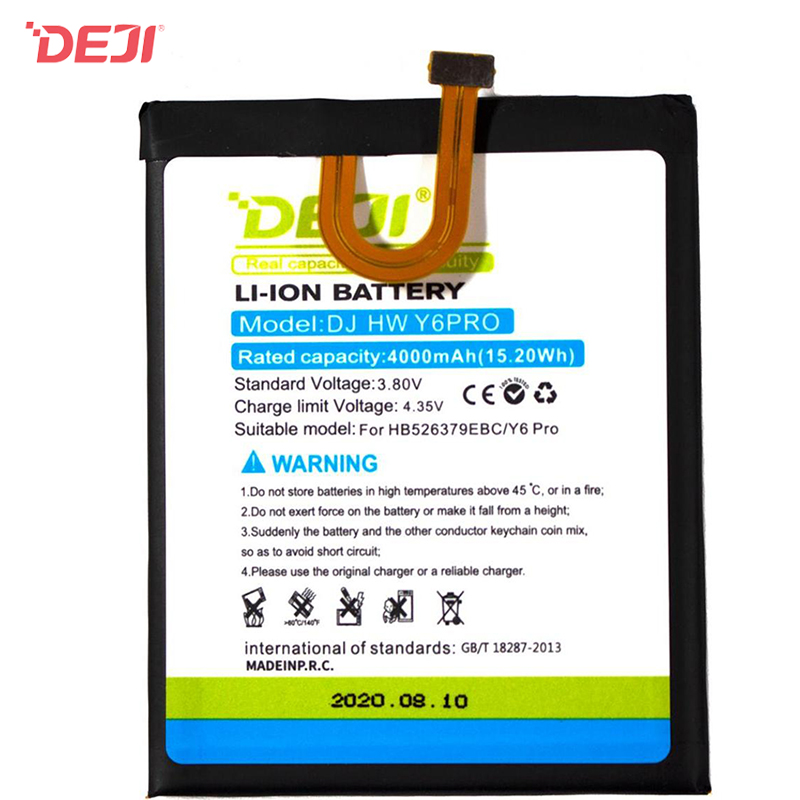 Huawei Battery HB526379EBC (3900 mAh) for Wholesale Y6 Pro Honor Play 5X
