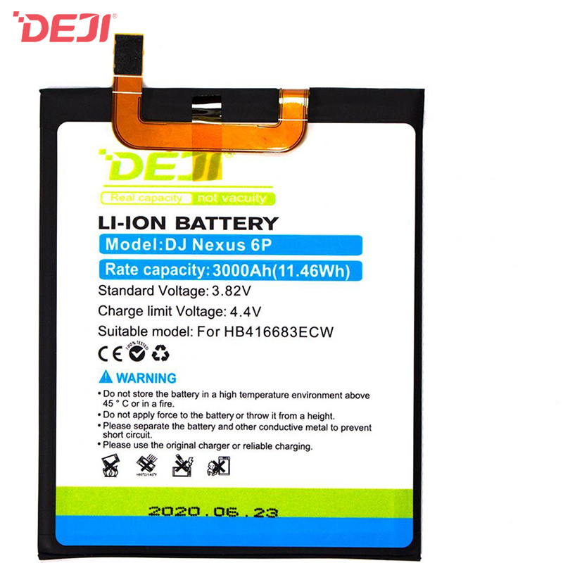 DEJI-Huawei HB416683ECW Nexus 6p Phone Battery (3000 mAh) Tool Kit