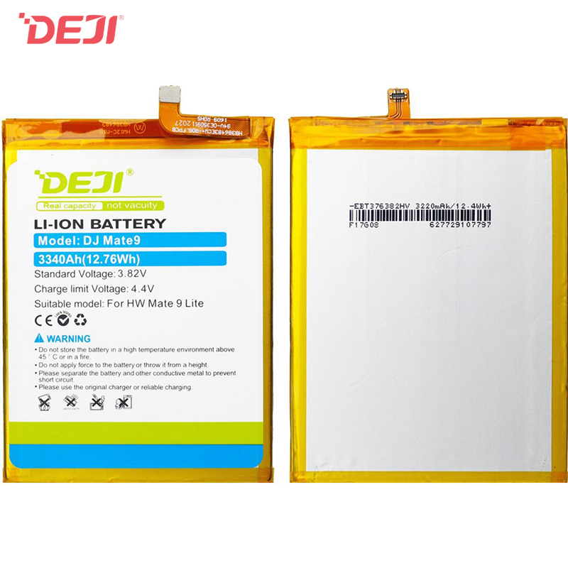 DEJI-Huawei HB386483ECW + (3340 mAh) For Mate9 Phone Battery replacement