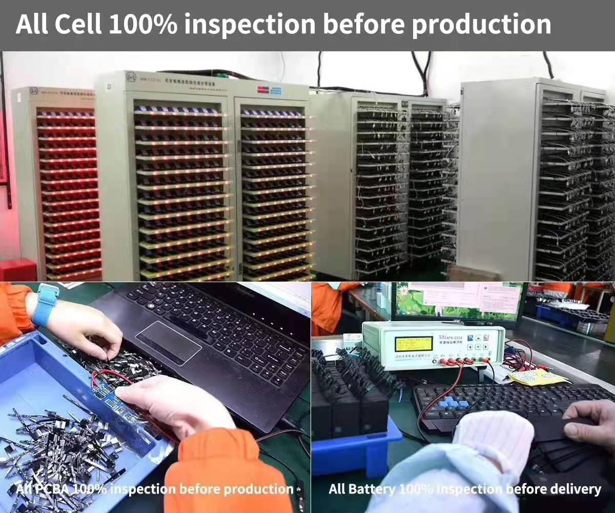 Mobile phone battery inspection equipment
