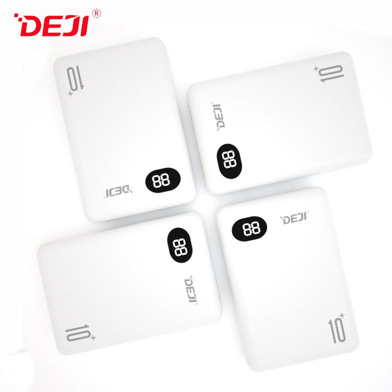 DJ-222 10000mAh Dual USB Power Bank