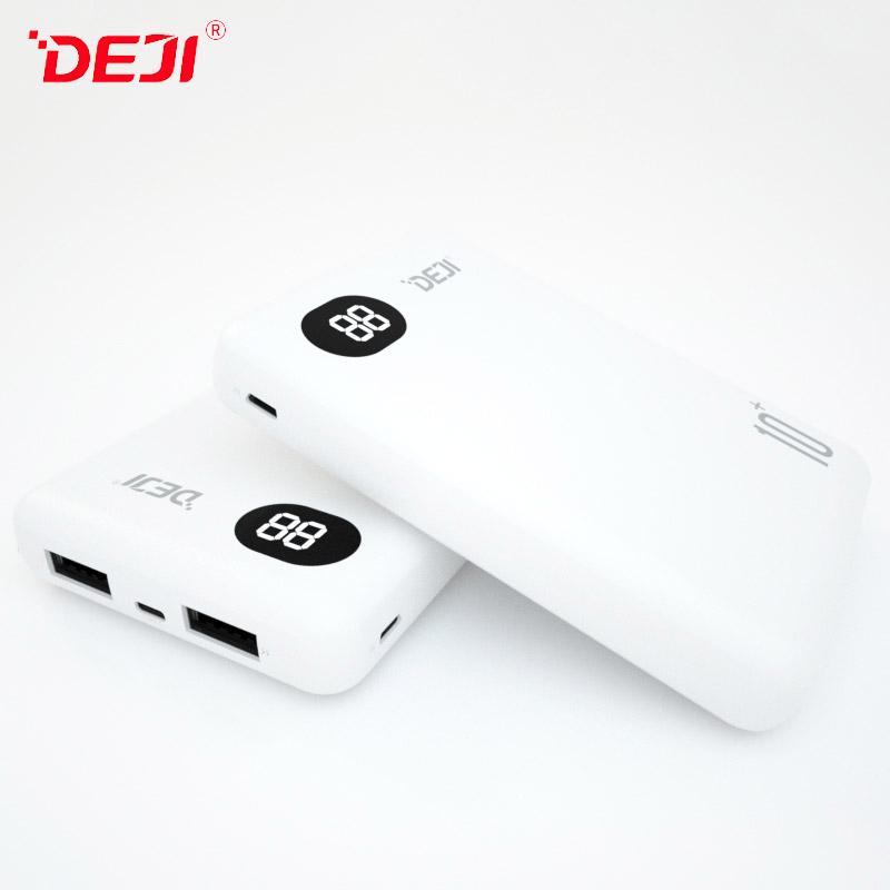 DJ-222 10000mAh Dual USB Top Quality Small Power Bank