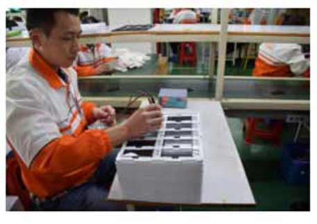 DEJI Mobile Phone Battery Factory Introduction