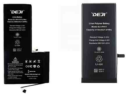 New Model Phone Battery Wholesale For Iphone Samsung Xiaomi In June