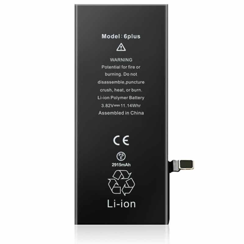 2915mah Iphone6Plus Original Capacity OEM-ODM Battery