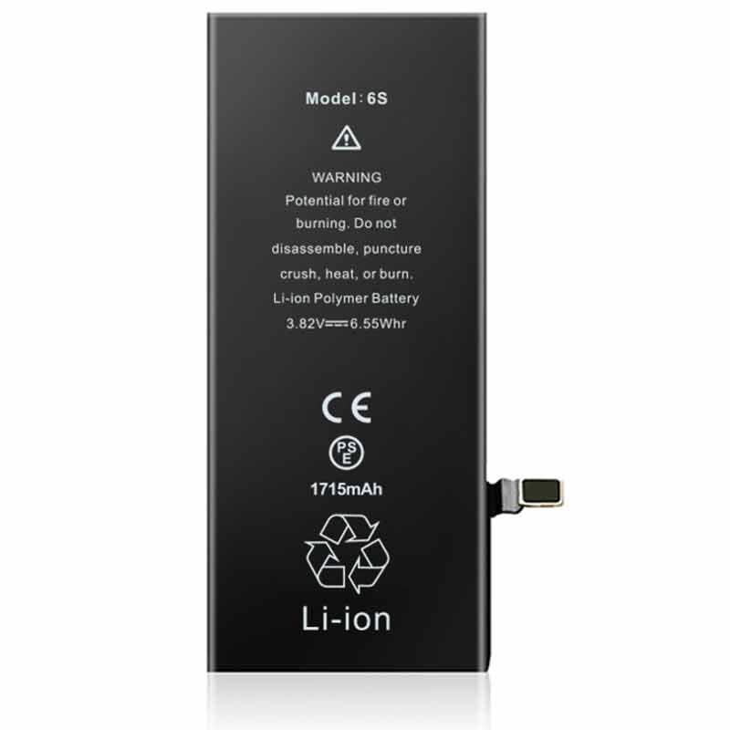 1715mah Iphone6s OEM-ODM Battery