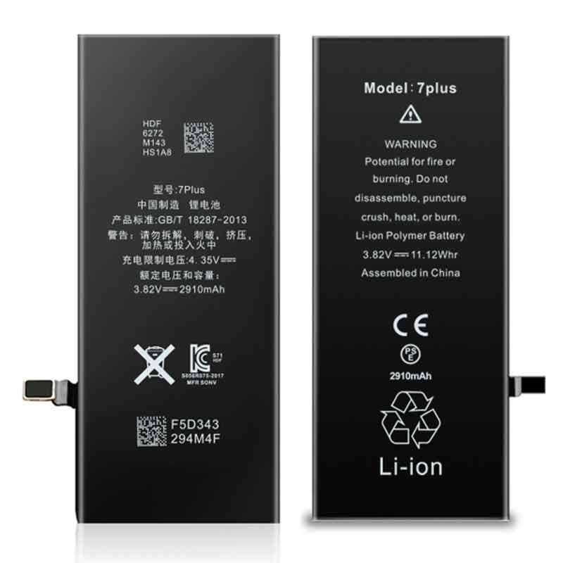 2910mah Iphone7Plus OEM Battery