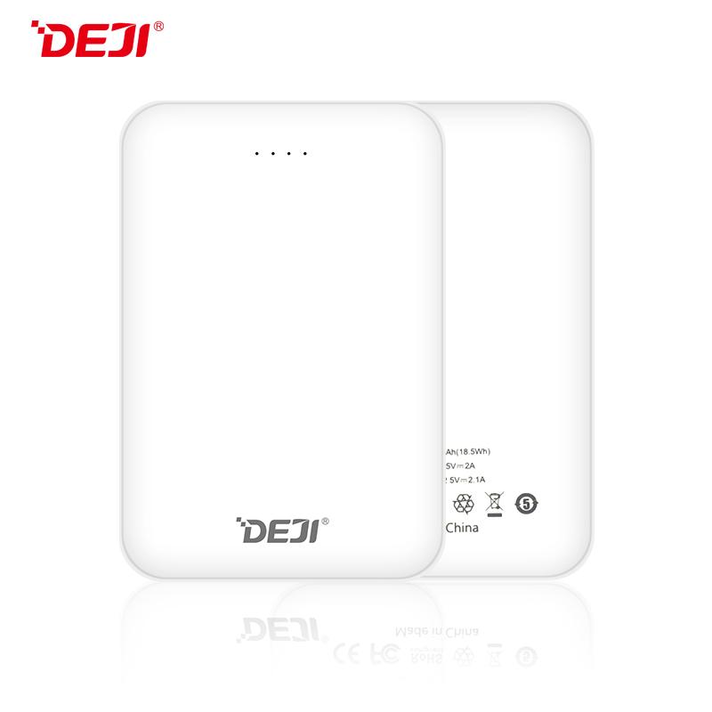 DJ-302 5000mah 5V 2A Mobile Portable Power Bank Manufacturer